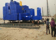 VY60A Blue Hydraulic Static Pile Driver , pile foundation machine with Fast Pile Driving Pile