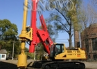 Rotary Drilling Rigs TR220  Max drilling depth  60-66m Whole machine weight  65T