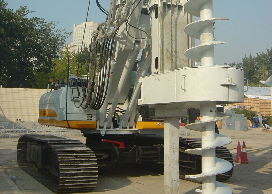 Durable CFA Equipment For Directional Drilling Equipment TR250W Rated Power 18 kw