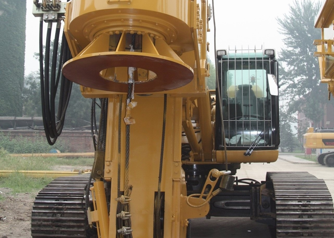 TR Series Rotary Drilling Rig With High Stability Original Caterpillar Base
