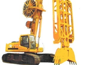 Hydraulic Crawler Mounted Diaphragm Wall Machine
